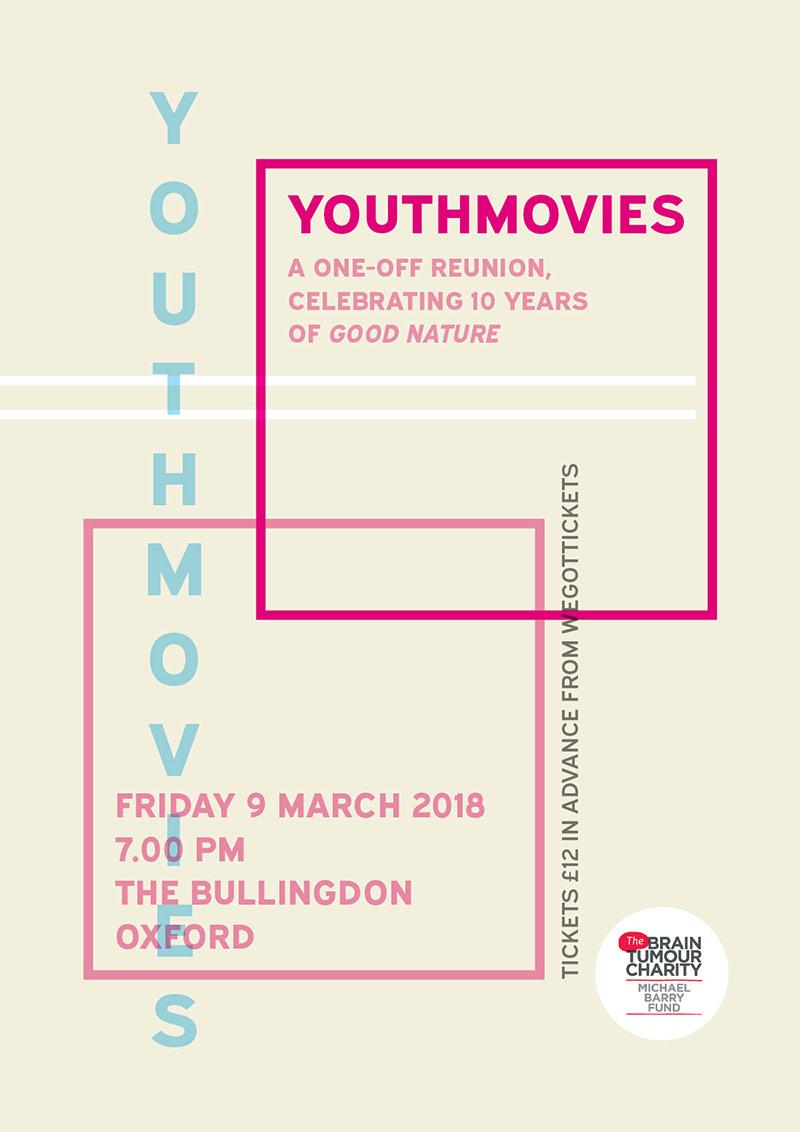 Youthmovies reunion gig 2018 poster