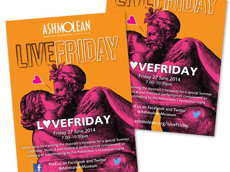 Ashmolean LiveFriday 27/06/14 leaflet