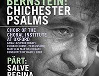 Bernstein / Pärt poster