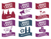 Brookes Union Society logos