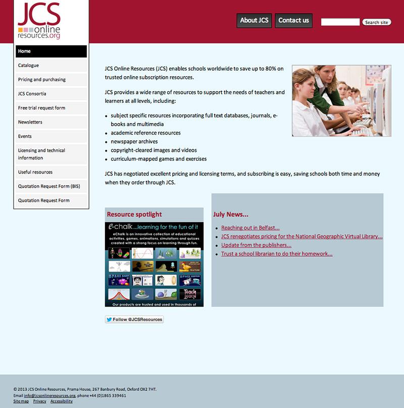 JCS Online Resources website
