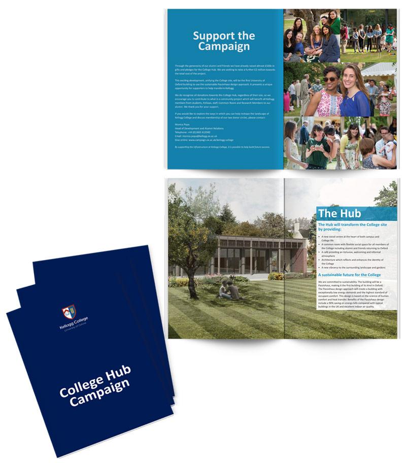 Kellogg College Hub Brochure  Nineteenpoint