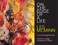 'On The Edge Of A Life' exhibition promotional materials