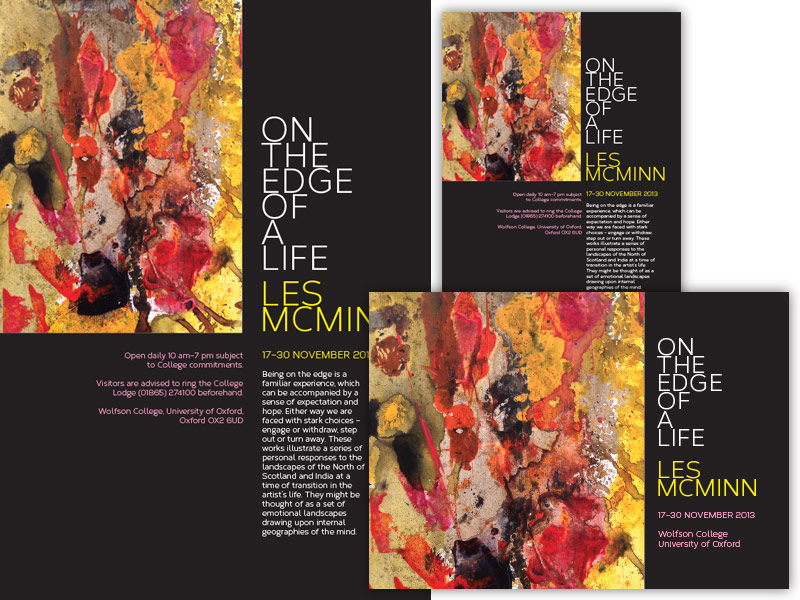 Artist Painting Brochure