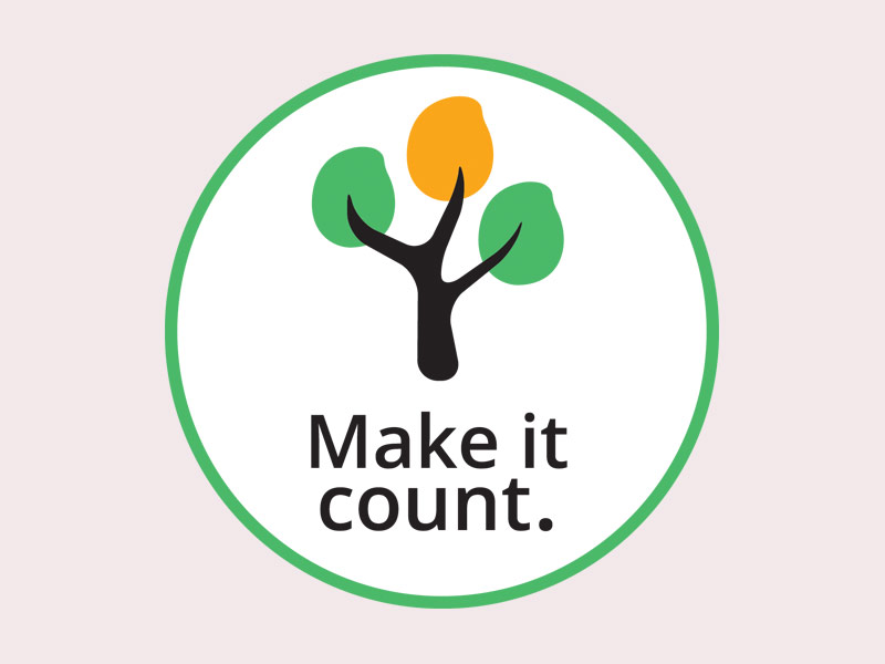 Mango 'Make It Count' logo