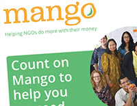 Mango 'Refer a friend' leaflet