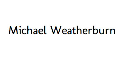 Michael Weatherburn logo