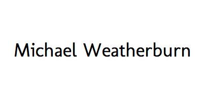 Michael Weatherburn logo