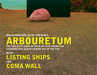 Arbouretum / Listing Ships / Coma Wall poster