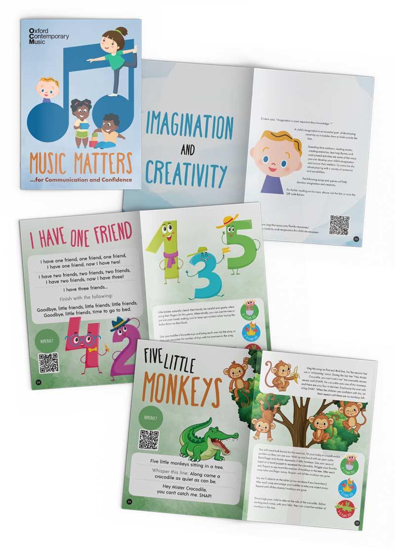 Music Matters book design