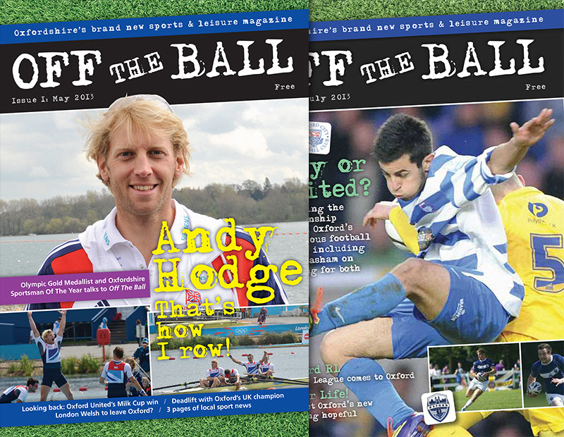 Off The Ball covers