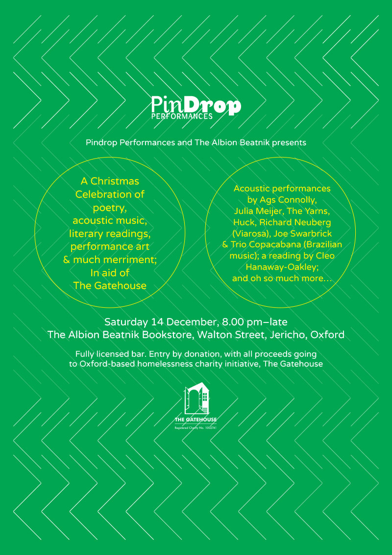 Pindrop Performances and The Albion Beatnik Christmas Celebration