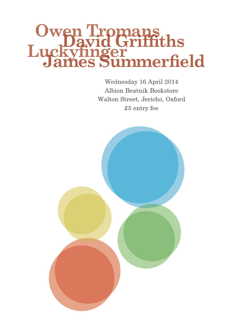 Owen Tromans / David Griffiths / Luckyfinger / James Summerfield poster