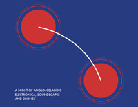 Anglo-Icelandic electronica, soundscapes and drones poster