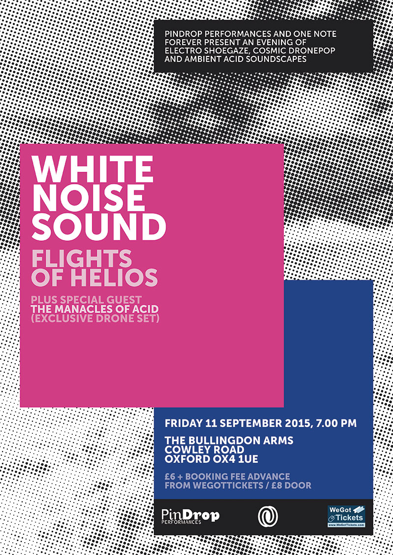 White Noise Sound / Flights Of Helios poster