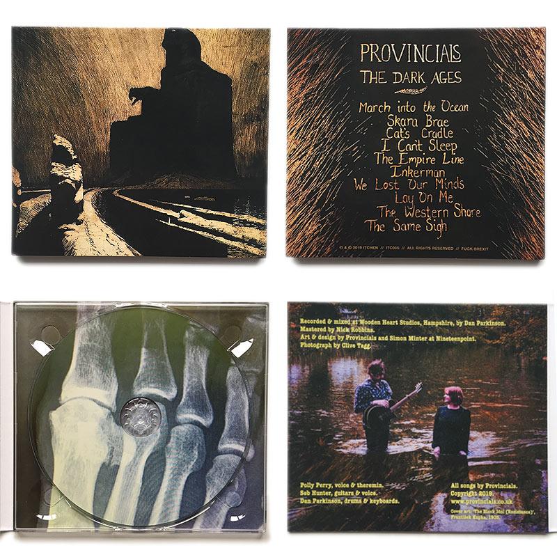 Provincials 'The Dark Ages' album artwork