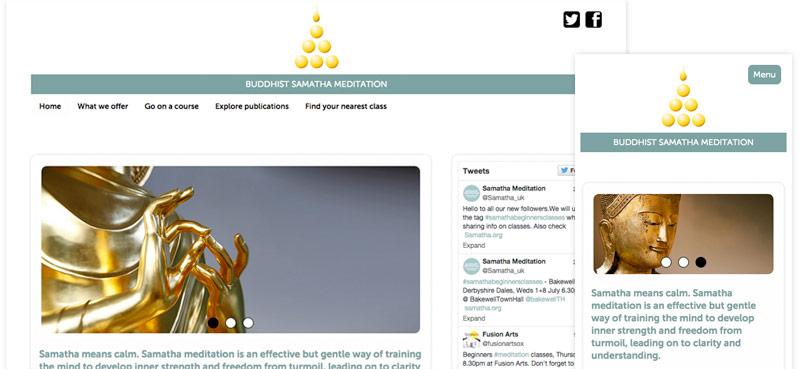 Samatha Trust website