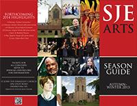 SJE Arts leaflet