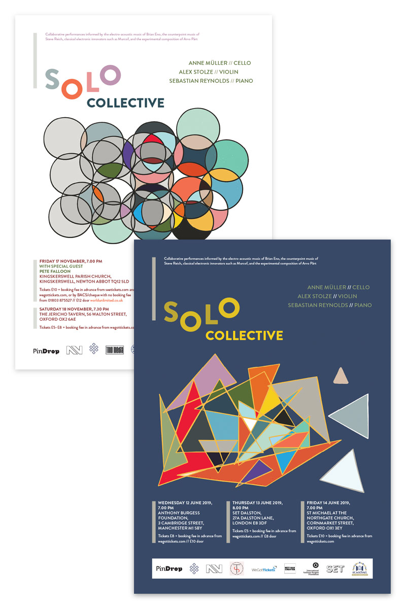 Solo Collective tour posters