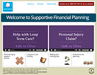 Supportive Financial Planning website