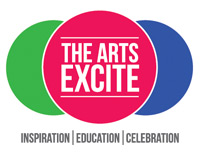 The Arts Excite logo