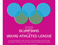 Olympians / Young Athletes League poster
